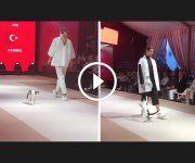 chat défilé de mode
